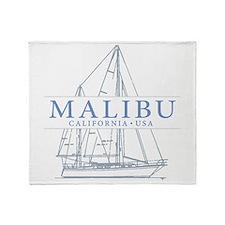 Malibu CA - Throw Blanket