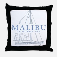 Malibu CA - Throw Pillow