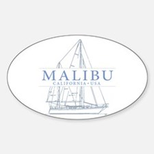 Malibu CA - Decal