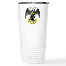 Freemasonry Scottish Ri Travel Mug