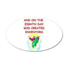 INVENTORS.png Wall Decal