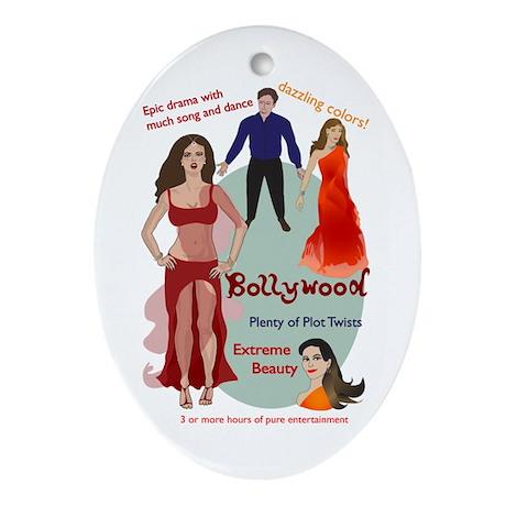 Bollywood Parody Oval Ornament