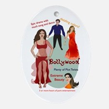 Bollywood Parody Oval Ornament