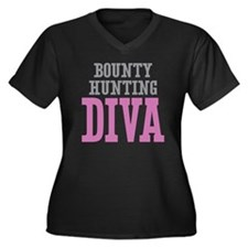 Bounty Hunting DIVA Plus Size T-Shirt