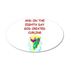 CURLING.png Wall Decal