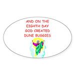 DUNEBUGGIES.png Sticker (Oval 50 pk)