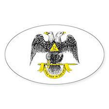 Freemasonry Scottish Rite Decal