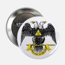 """Freemasonry Scottish Rite 2.25"""" Button (10 pack)"""