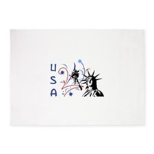 USA LIBERTY 5'x7'Area Rug