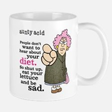 Aunty Acid: Lettuce Diet Mug