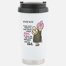 Aunty Acid: Lettuce Die Travel Mug
