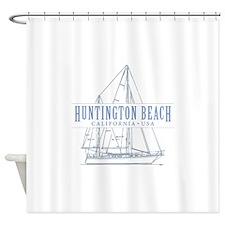 Huntington Beach - Shower Curtain