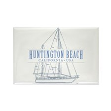 Huntington Beach - Rectangle Magnet (10 pack)