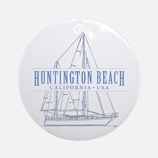 Huntington Beach - Ornament (Round)