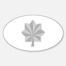 MAJOR LT COLONEL Decal