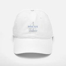 Newport Beach - Baseball Baseball Cap