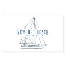 Newport Beach - Decal