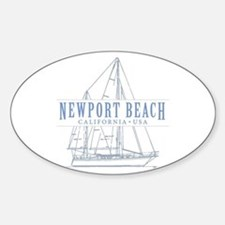 Newport Beach - Decal