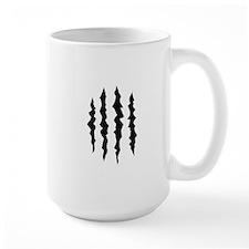 PUFFY FOAM CLAW MARKS Mugs