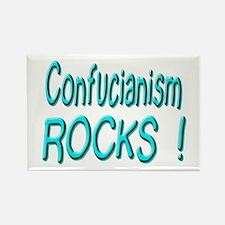 Confucianism Rocks ! Rectangle Magnet
