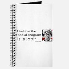 Ronald Reagan - I believe the best social Journal