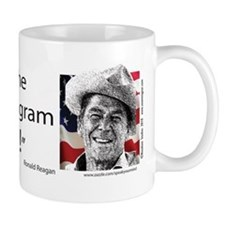 Ronald Reagan - I believe the best soci Mug