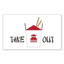 Takeout Decal
