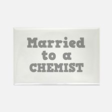 Married to a Chemist Rectangle Magnet (10 pack)