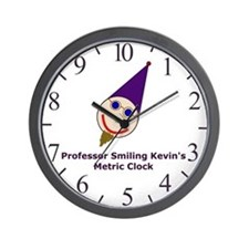 Professor Smiling Kevin's Metric Clock