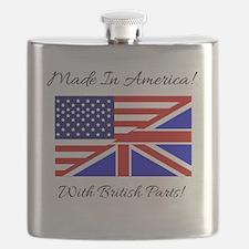Cute British Flask