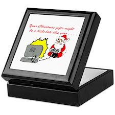 Santa's Video Games Keepsake Box