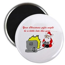 "Santa's Video Games 2.25"" Magnet (10 pack)"