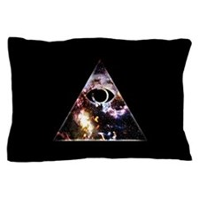 All Seeing All Knowing Pillow Case