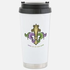 Laissez De Lis Stainless Steel Travel Mug