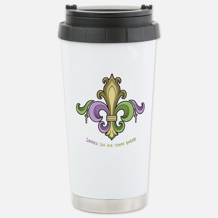 Laissez De Lis Travel Mug