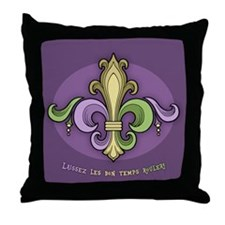Laissez De Lis Throw Pillow