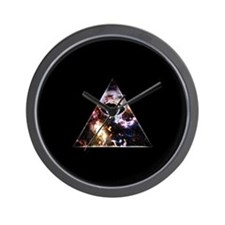 All Seeing All Knowing Wall Clock
