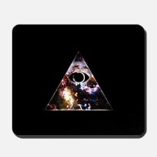 All Seeing All Knowing Mousepad