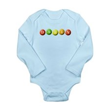 Cute Mm Long Sleeve Infant Bodysuit