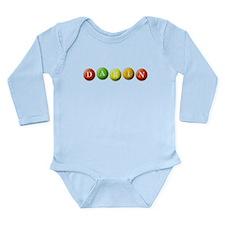 Cute Mm Long Sleeve Infant Bodysuit
