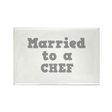 Married to a Chef Rectangle Magnet (100 pack)