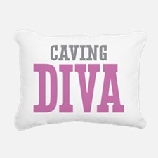 Caving DIVA Rectangular Canvas Pillow