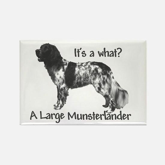 Munsterlander Rectangle Magnet
