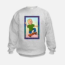Skateboard Dude Sweatshirt