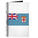 Fiji Fijian Blank Flag Journal