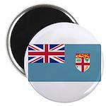 Fiji Fijian Blank Flag Magnet