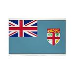 Fiji Fijian Blank Flag Rectangle Magnet (100 pack)