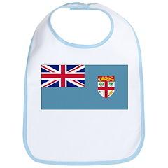 Fiji Fijian Blank Flag Bib