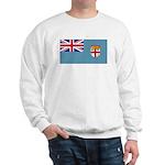 Fiji Fijian Blank Flag Sweatshirt