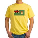 Fiji Fijian Blank Flag Yellow T-Shirt